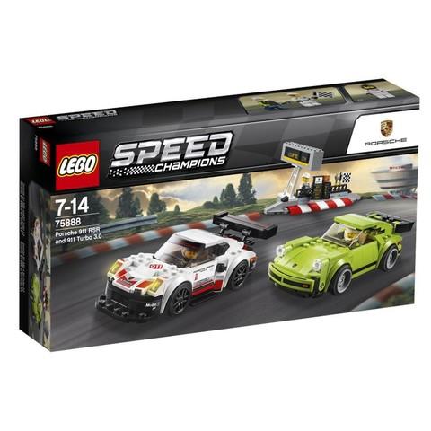 LEGO Speed Champions: Porsche 911 RSR и 911 Turbo 3.0 75888 — Porsche 911 RSR and 911 Turbo 3.0 — Лего Спид чампионс Чемпионы скорости