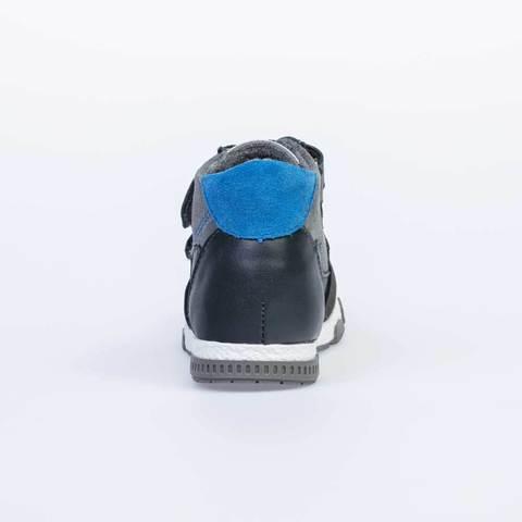 Ботинки серые