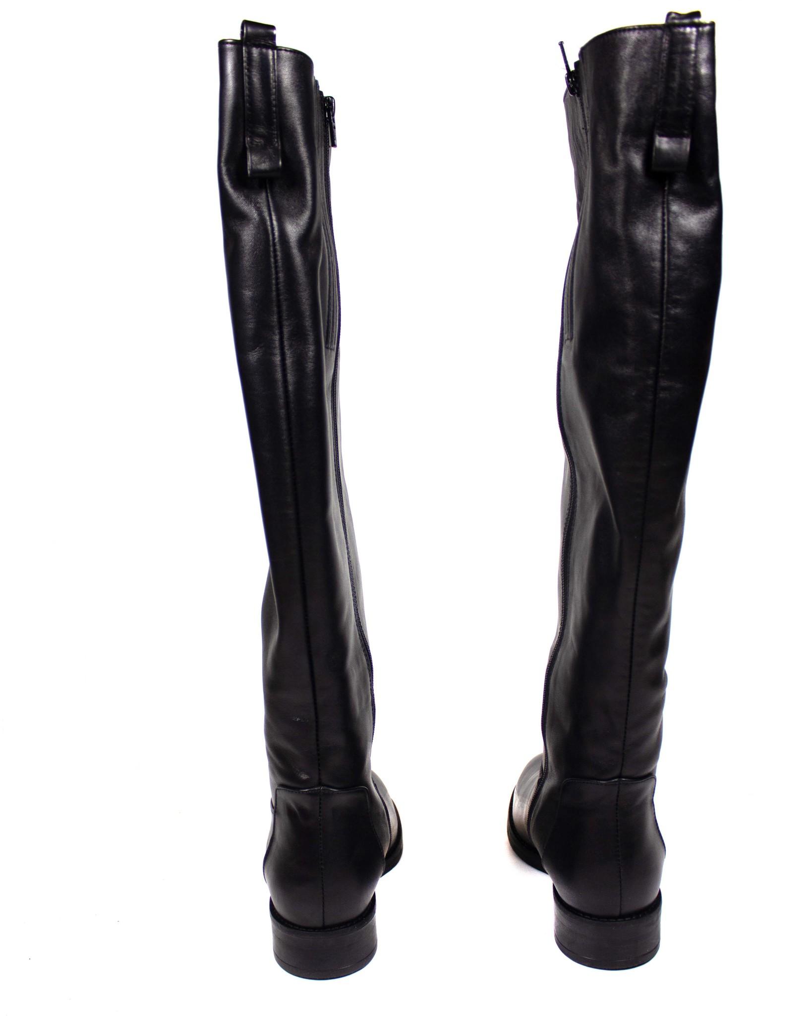 черные сапоги Mario Muzi