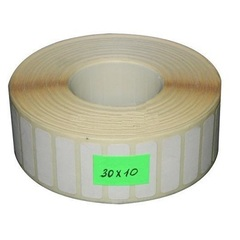 Термоэтикетки 30*10*5000 чистые, втулка 40 мм