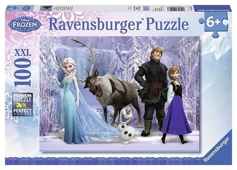 Puzzle In the Realm of the Snow 100 pcs