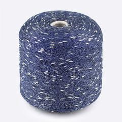 Синий с серебром / 17474 33600