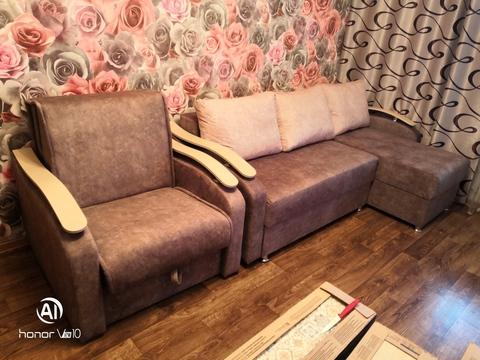 Угловой диван + кресло-кровать