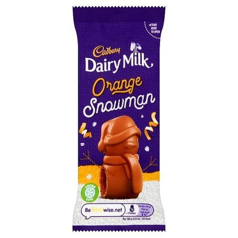 Cadbury Mousse Snowman Orange 30 гр