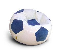 Кресло мяч Бело-Синий