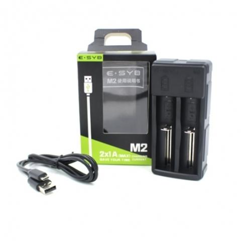 Зарядное устройство ESYB M2 (USB) 2 акк.