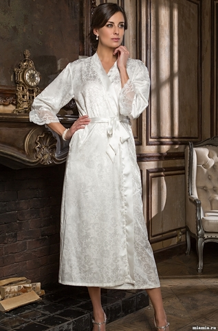 Длинный халат Mia-Amore 9539 ANGELINA
