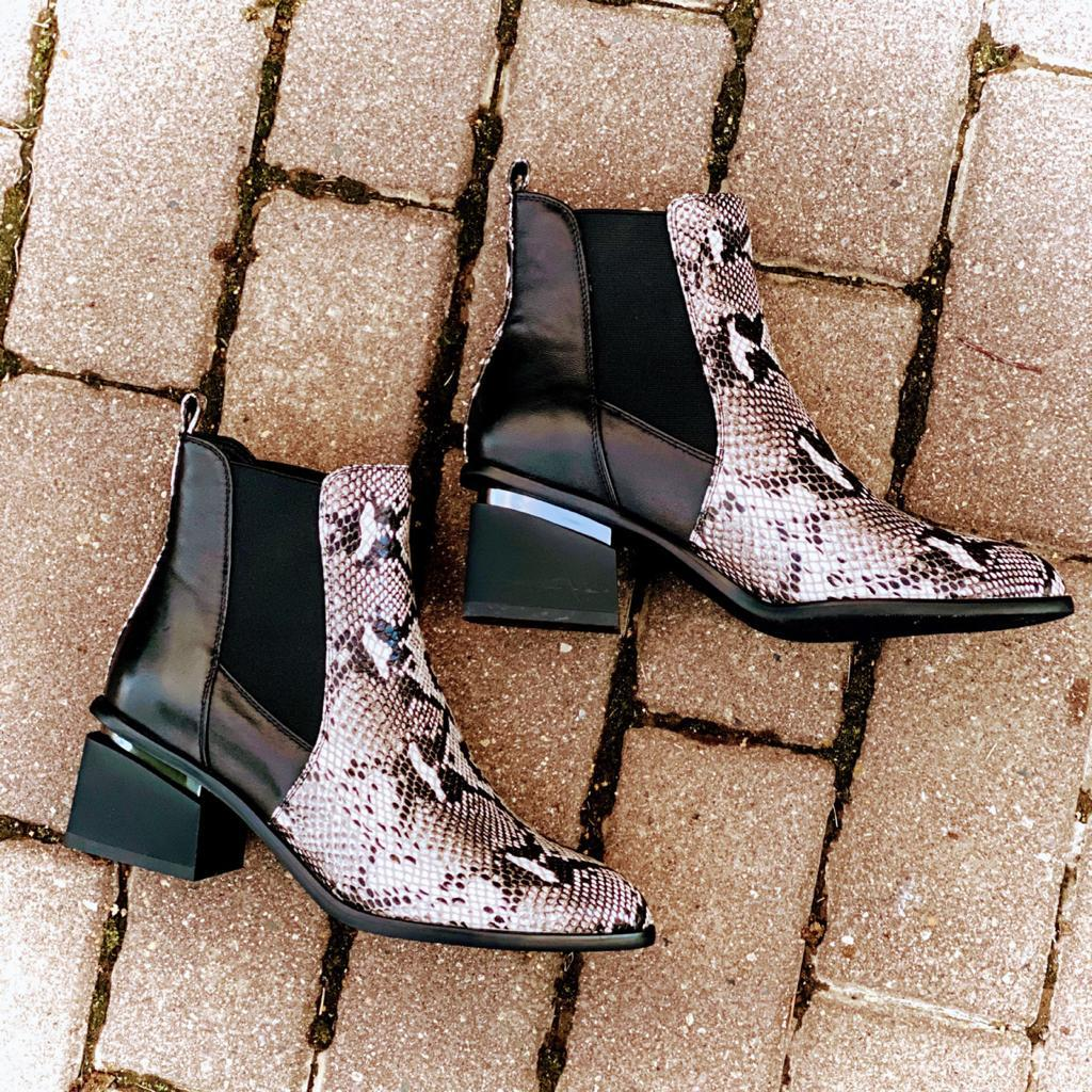 Madella Ботинки MAD-02H36-1D-KB питон