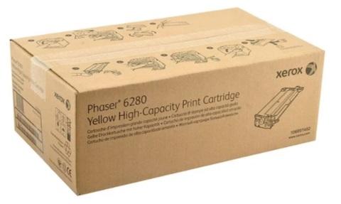 Оригинальный картридж Xerox 106R01402 желтый