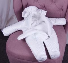 Комплект на выписку для новорожденных зима Finland белый