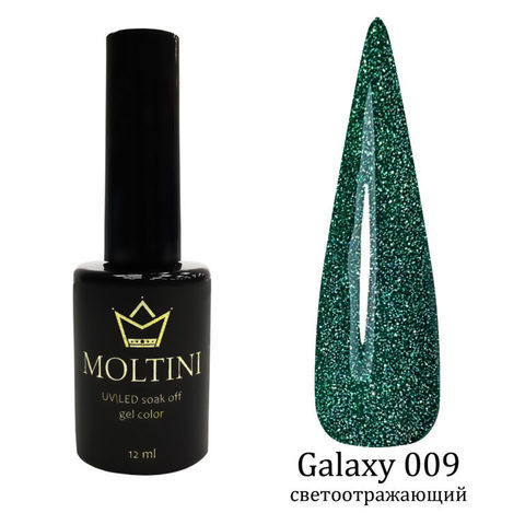 Гель-лак Moltini Galaxy 009, 12 ml