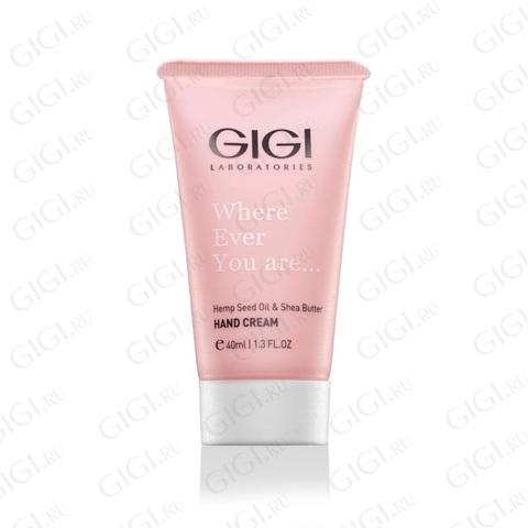 Gigi Hand GAP с коноп .маслом и Ши Hemp Seed Oil & Shea Butter, 40 ml