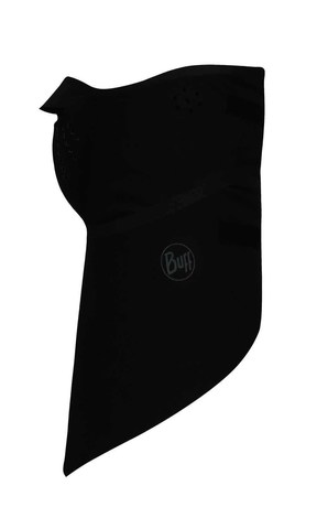 Непродуваемая бандана-шарф Buff Bandana Windproof Solid Black фото 1