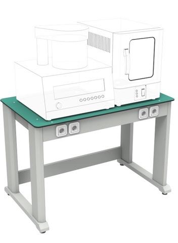 Стол лабораторный под аппаратуру (усиленный) СЛ-1-1200а (исп.1) - фото