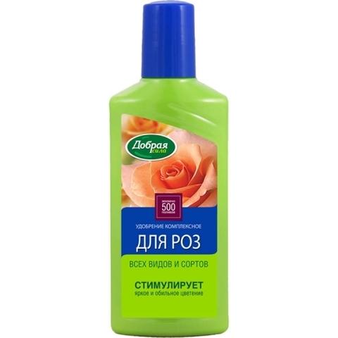 Добрая сила Жидкое органо-минеральное удобрение для роз и пионов 250мл
