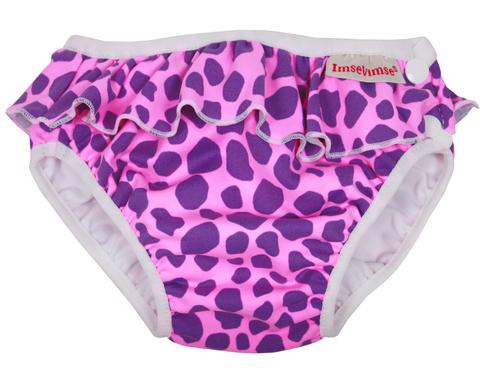 Плавки Imsevimse, Pink Leopard Frill