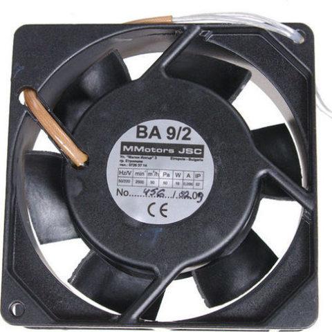Осевой вентилятор MMotors JSC VA 9/2 T (+150°С)