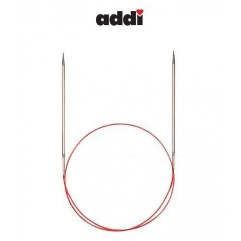 Спицы Addi круговые с удлиненным кончиком для тонкой пряжи 60 см, 2.5 мм