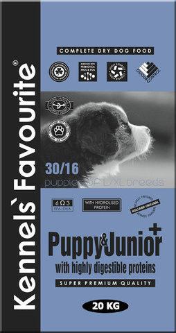 Kennels` Favourite Puppy & Junior + 20 кг.