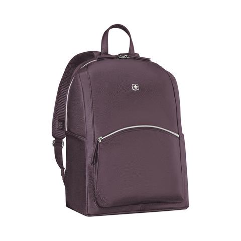 Женский городской рюкзак сливовый (18л) LeaMarie WENGER 611221