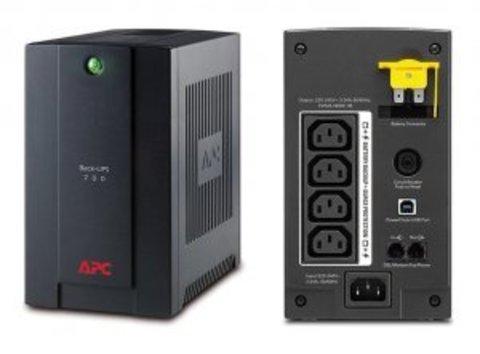 Источник бесперебойного питания BX700UI APC Back-UPS 700 ВА