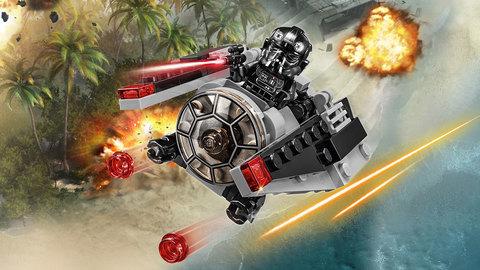 LEGO Star Wars: Микроистребитель-штурмовик TIE 75161 — TIE Striker™ Microfighter — Лего Звездные войны Стар Ворз