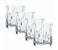 Набор из 4 хрустальных стаканов для виски Shufa, фото 1