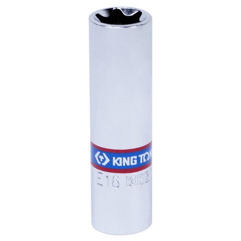 KING TONY (327516M) Головка торцевая глубокая TORX Е-стандарт 3/8