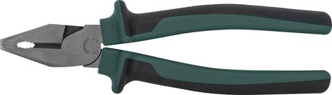 P0117 Пассатижи с увеличенными рычагами и двухкомпонентными рукоятками, 180 мм