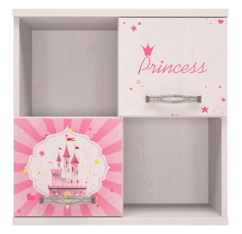 Секция навесная Принцесса 10 Ижмебель лиственница сибио