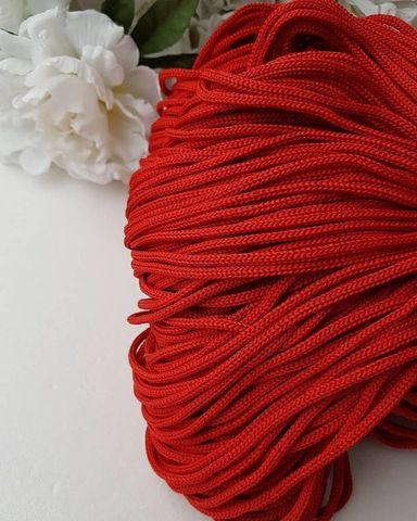 Красный Полиэфирный шнур