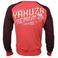 Свитшот красный Yakuza Premium 2824
