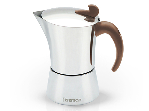 9416 FISSMAN Гейзерная кофеварка (на 9 чашек)