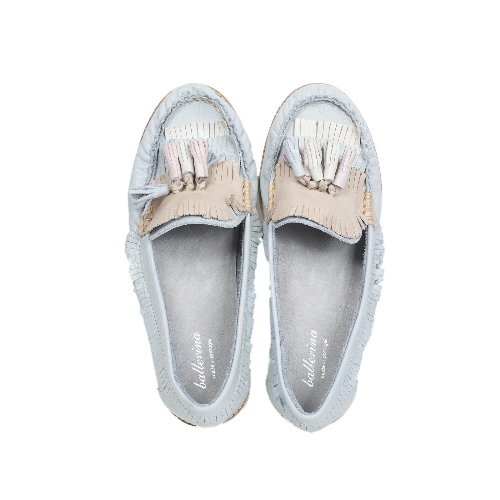 Мокасины, Ballerina, Piccadilly (голубой)