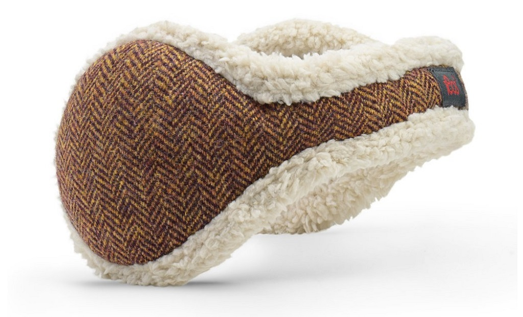 American Wool Brown Herringbone