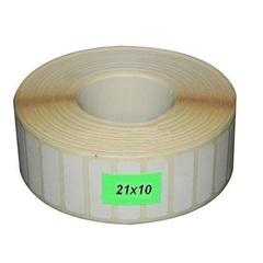 Термоэтикетки 21*10*5000 чистые, втулка 40 мм