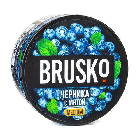 Кальянная смесь BRUSKO 250 г Черника с Мятой