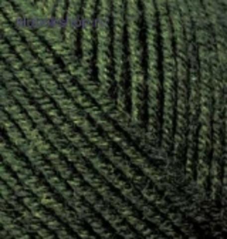 Alize Superlana midi Темно зеленая черепаха 241 (5 шт.)