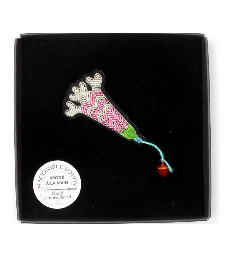 Брошь Light Pink Flower от Macon&Lesquoy