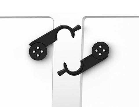 Соединитель для стола CLICK (комплект из 4-х штук)