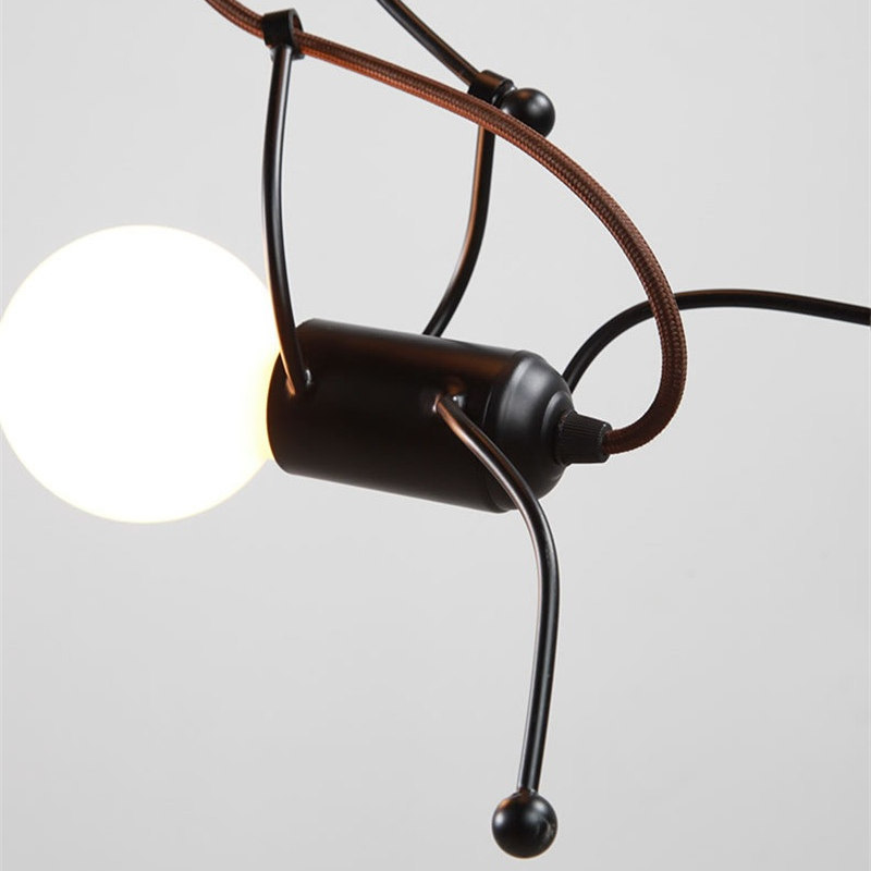 Подвесной светильник Live Men by Light Room (6 плафонов)