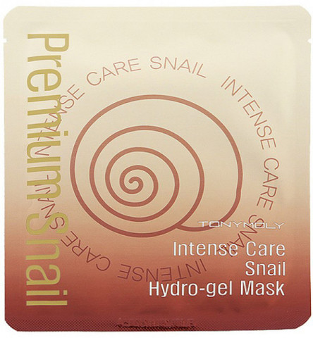 Tony Moly  гидрогелевая маска Intense Care Snail Hydro Gel Mask Shee