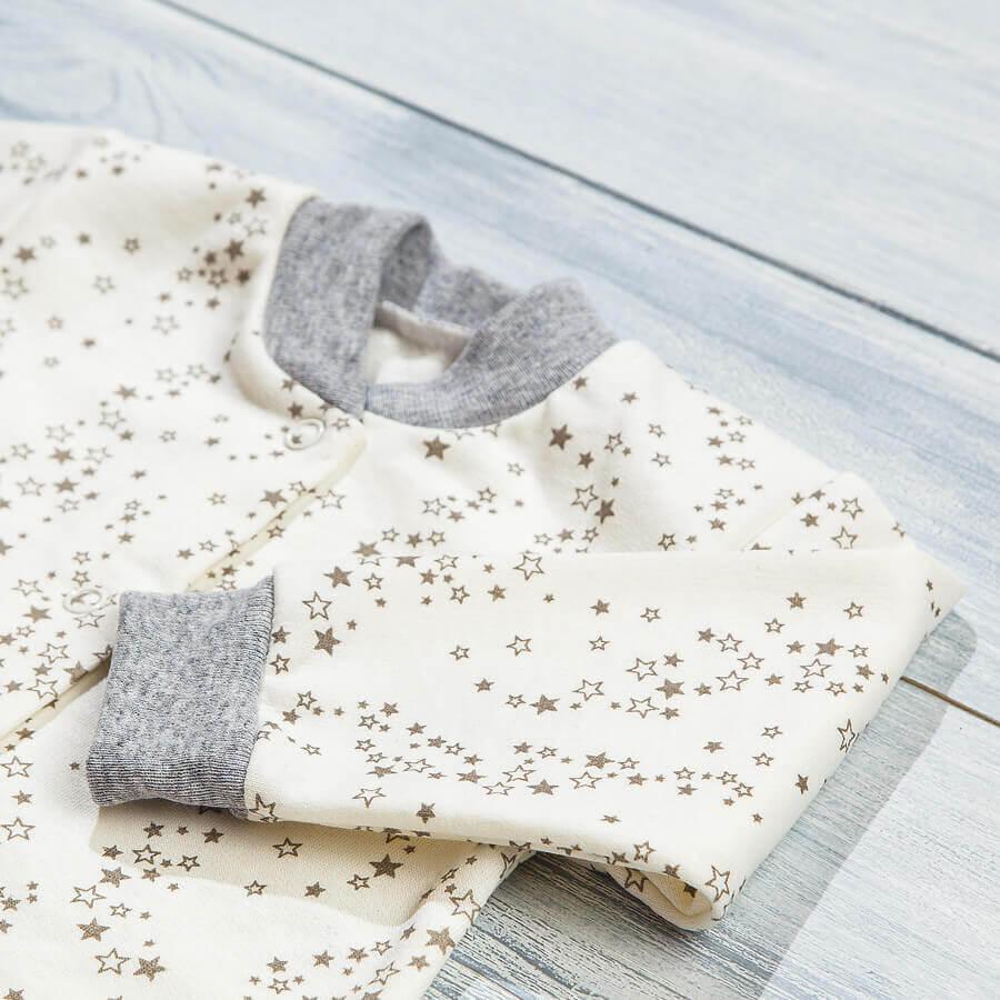 Спальный мешок с начесом для новорожденных