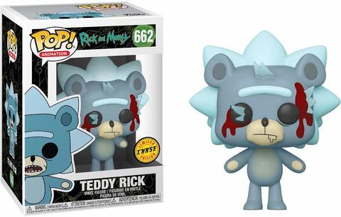 Фигурка Funko POP! Vinyl: Rick & Morty: Teddy Rick with Chase