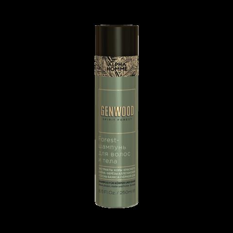 Forest-шампунь для волос и тела Genwood, 250 мл