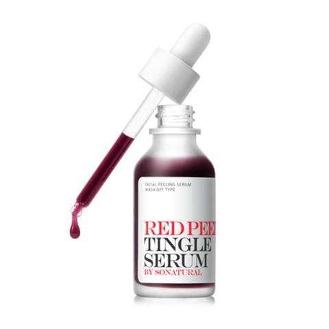 So'Natural Red Peel Tingle Serum смываемая кислотная сыворотка с тингл-эффектом