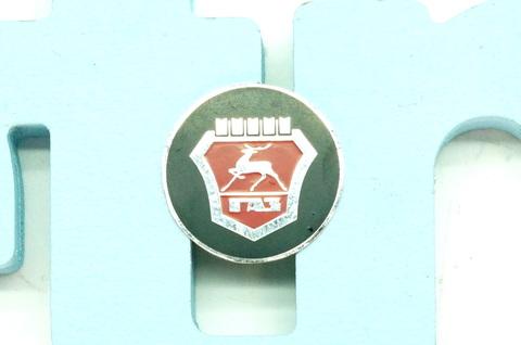 Значок эмблема руля 5 башен ГАЗ 24, 2410, 3110, 3102, 31029