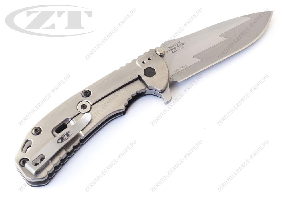 Нож Zero Tolerance 0560CBCF HINDERER - фотография