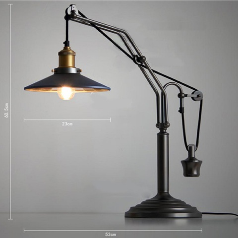 лампа Industrial Table Lamp 3879