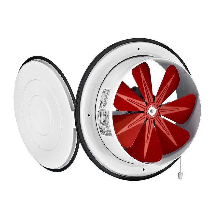 Вентиляторы оконные Осевой приточный оконный вентилятор Bahcivan BK 200 001.jpg